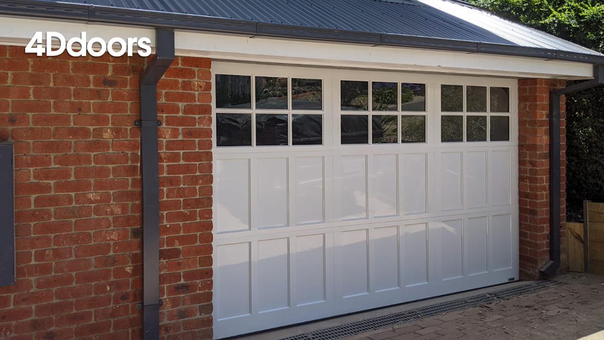 4Ddoors Hamptons Sectional Garage Door