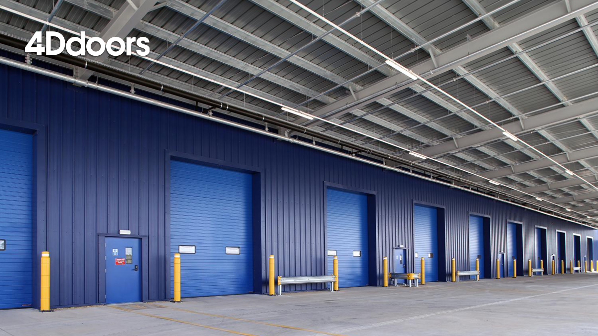 4Ddoors Industrial High Speed Garage Door