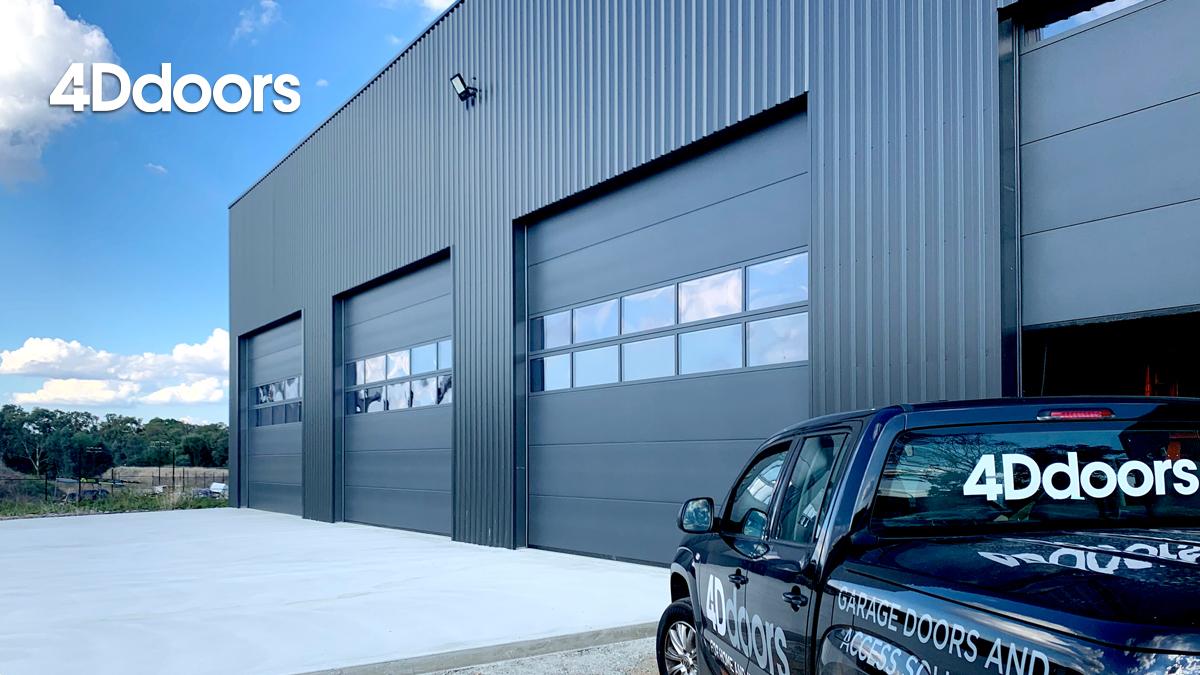 4Ddoors Industrial SPU F42 Sectional Garage Door