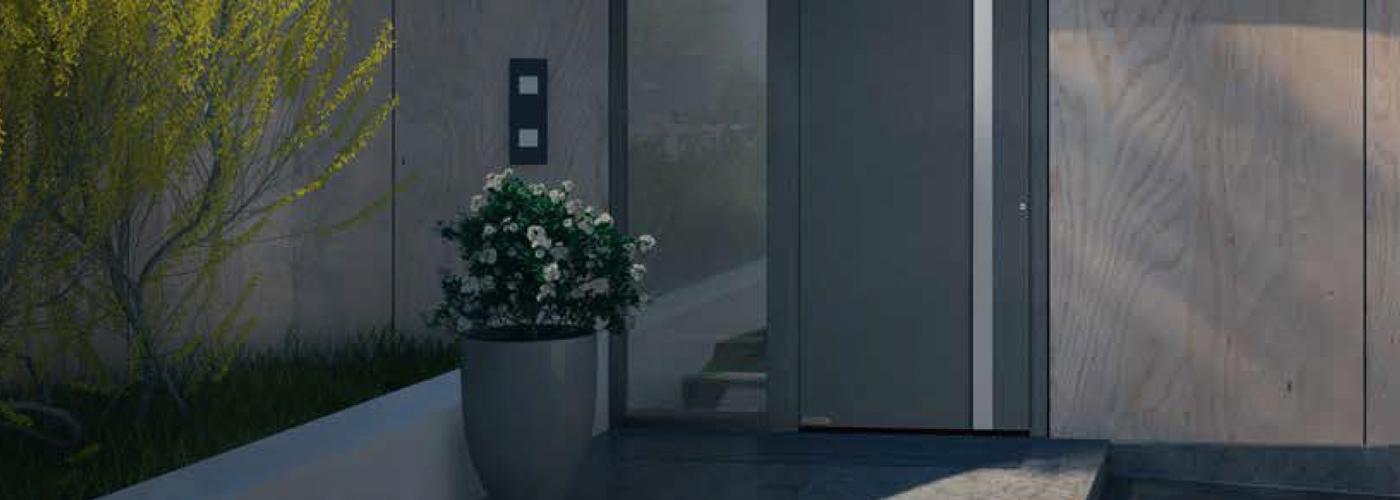 Aluminium & Glass Entrance Doors