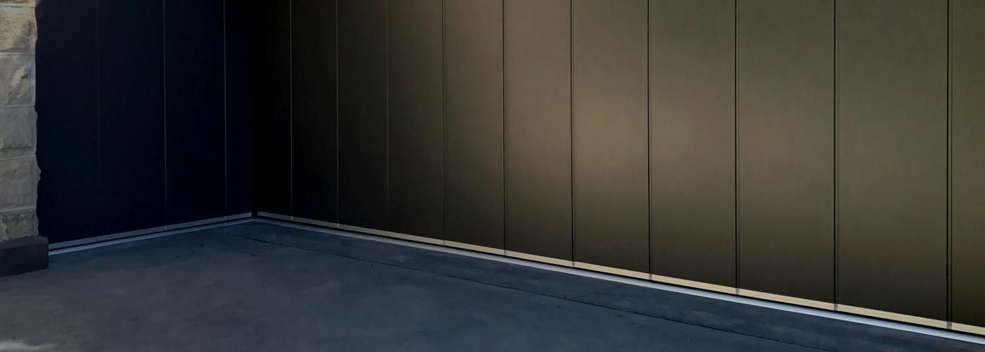 Side Sliding Sectional Door