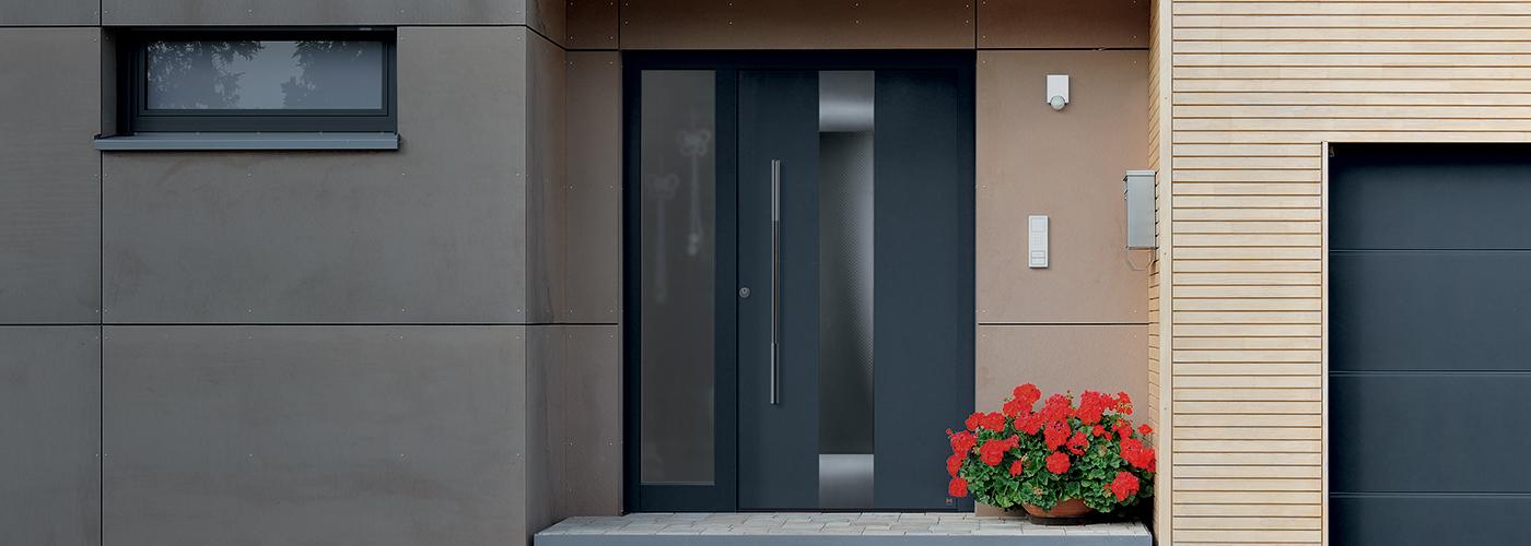 Steel & Aluminium Entrance Doors