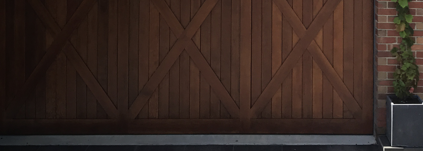 Tilt & Counterweight Doors
