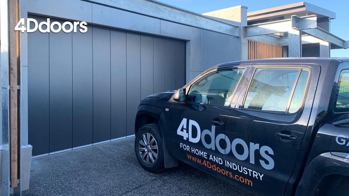 4Ddoors Side Sliding Sectional Garage Door