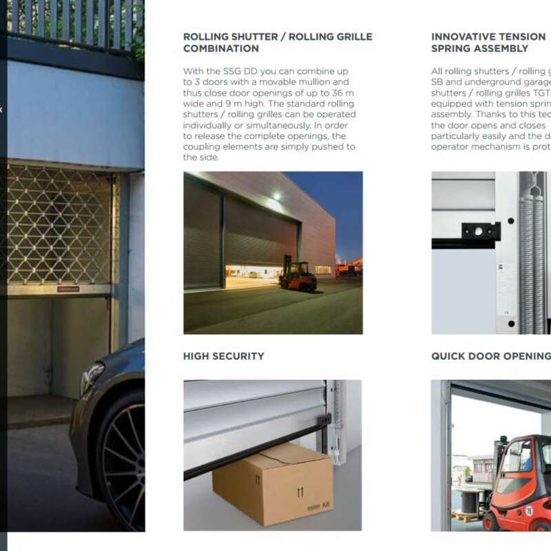 4Ddoors Rolling Shutter and Grilles Brochure