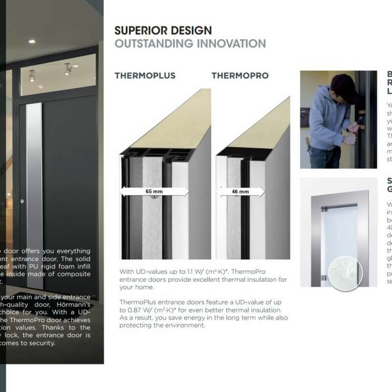 4Ddoors ThermoPro & Plus Entrance Doors Brochure