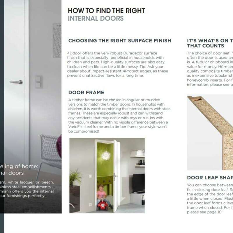 4Ddoors Timber Internal Doors Brochure